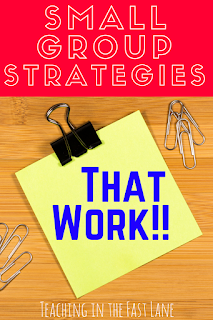 Small Group Strategies That Work