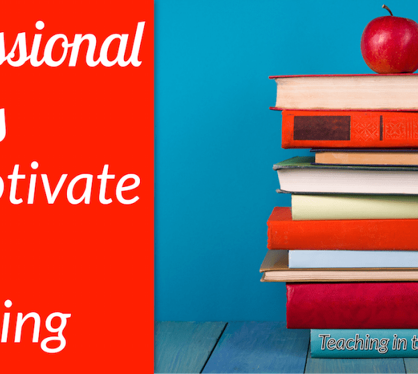 Professional Books to Motivate Your Teaching