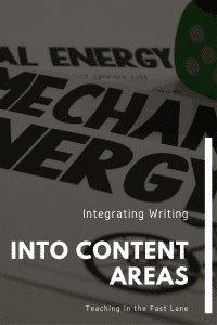 Check out these five strategies for integrating writing into any content area. The 2nd one has been the most powerful in my classroom. #integratedwriting #elementarywriting #writing