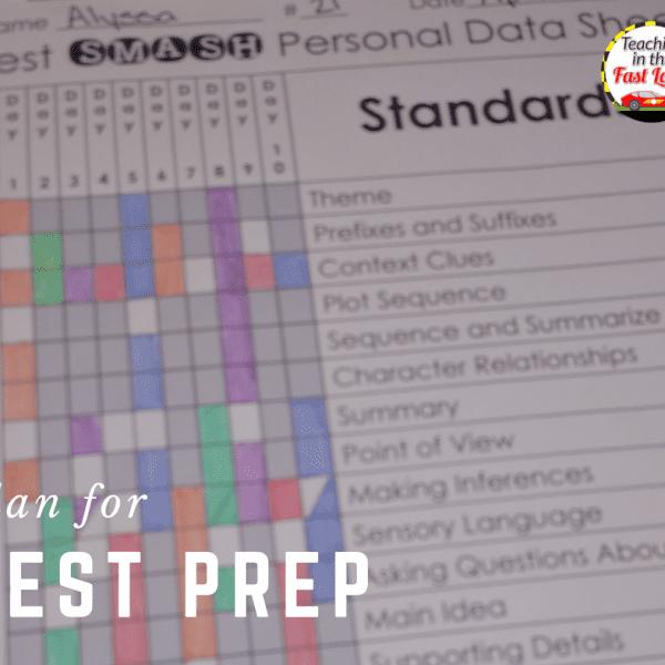 Test Prep in 5 Easy Steps