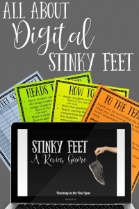 All About the Digital Stinky Feet Game