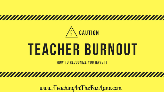 Teacher burnout. Those words strike fear into the souls of teachers the world over. The truth is though if you aren't taking care of yourself teacher burnout is coming for you. There is no way around it. As teachers, we give of ourselves freely. This can become a problem when we forget we can't only give to others.