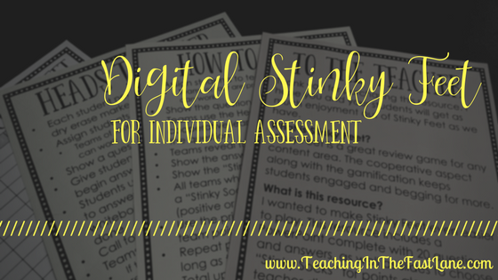 Using Digital Stinky Feet as an Independent Assessment