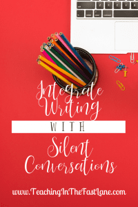 Are you looking for a way to integrate writing into your content areas? Check out this strategy that not only gets your students writing, but gives you a moment to collect yourself!