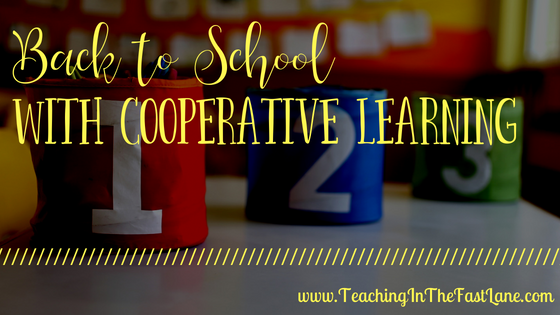 Back to School with Cooperative Learning
