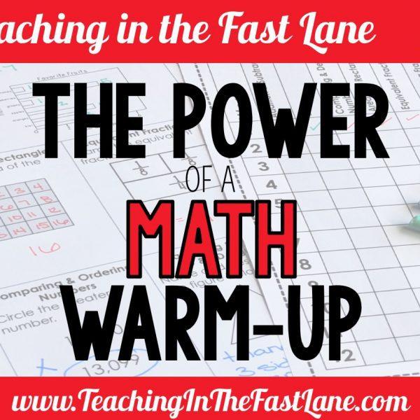 Math Warm Ups in Upper Elementary