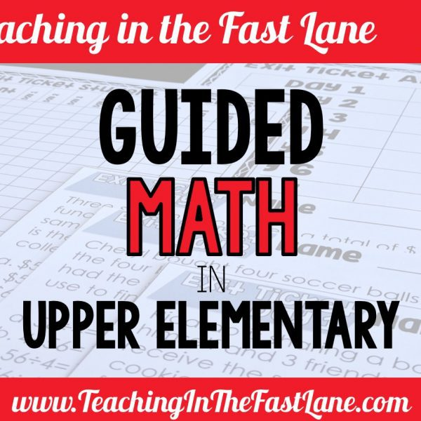 Guided Math in Upper Elementary
