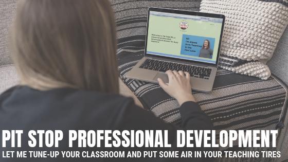 Pit Stop Professional Development