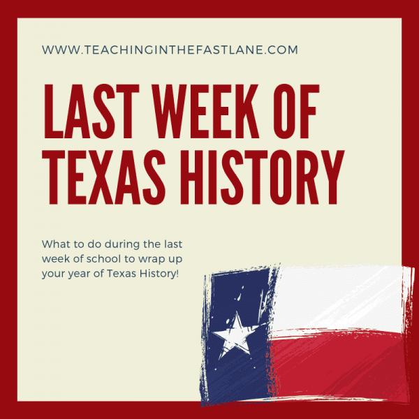 Last Week of Texas History