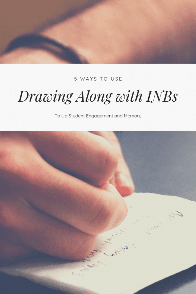 Doodle notes are all the rage, but you might be wondering how to use them with your interactive notebook activities. Check out this blog post with five ideas for integrating sketch notes into your notebook routine.