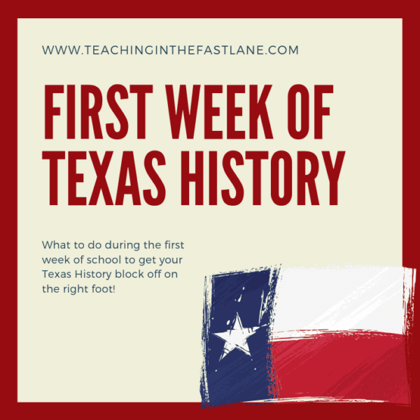 The First Week of Texas History