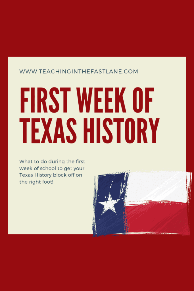 Are you wondering what to do with your 4th grade students during the first week of Texas History? Check out this blog post with ideas for classroom lessons for Texas History during the back to school season!