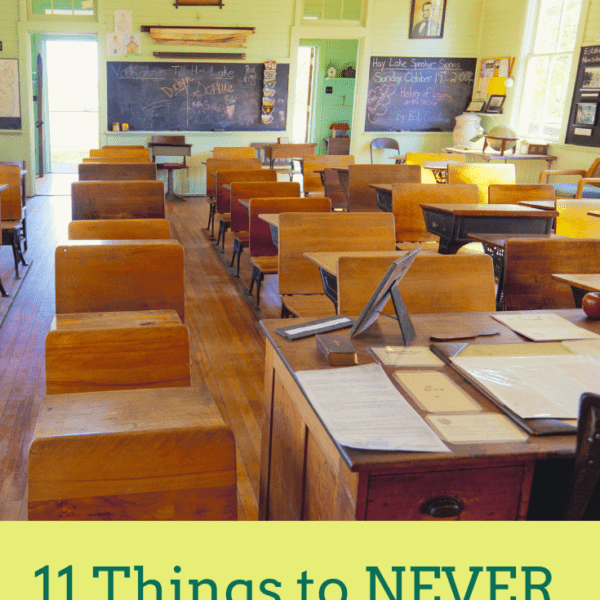 11 Things to NEVER Say to a Student