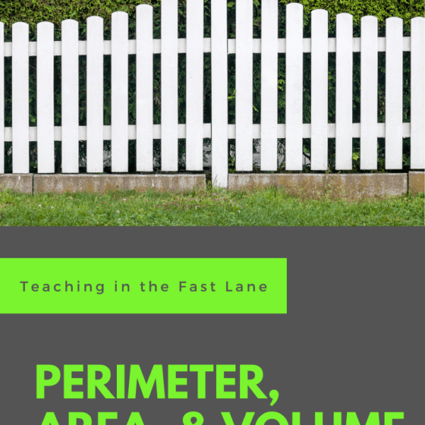 5 Activities for Perimeter, Area, and Volume
