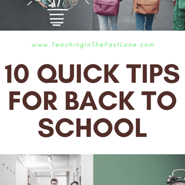 10 Quick Tips for Back to School